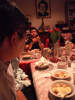 Dinner at Niel's House